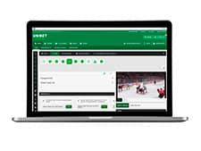 Spil på og se masser af top-ishockey hos Unibet