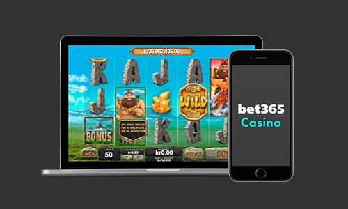 Du kan spille Jackpot Giant hos Bet365 Casino