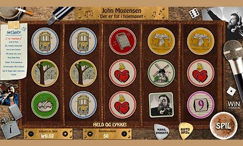 Spil med legendariske John Mopgensen i denne fremragende spilleautomat