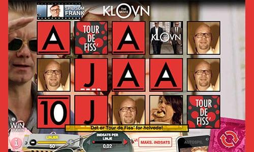 Spil Klovn The Movie spilleautomaten hos Danske Spil Casino
