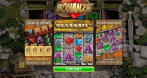 """Hos """"løvernes konge"""" kan du spille Bonanza-spilleautomaten"""
