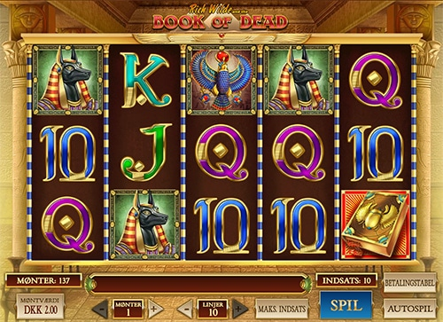 Book of Dead er en af verdens mest populære spilleautomater