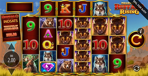 Buffalo Rising er en populær spilleautomat hos Leo Vegas