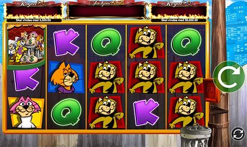 Vind en stor milliongevinst på Top Cat spilleautomaten