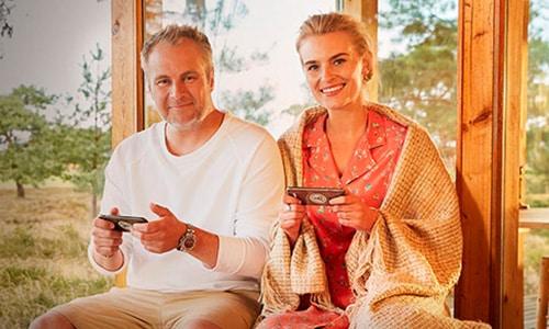 Komikeren Uffe Holm er talsperson for LeoVegas Casino
