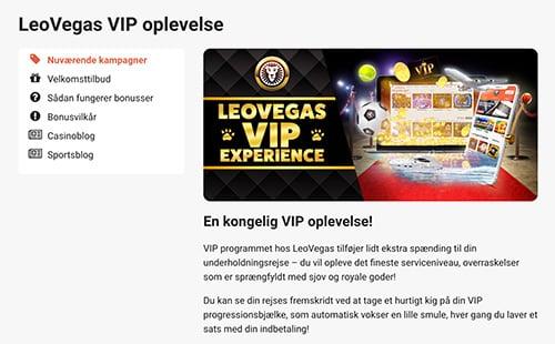 Bliv medlem af VIP-klubben hvis du spiller ofte