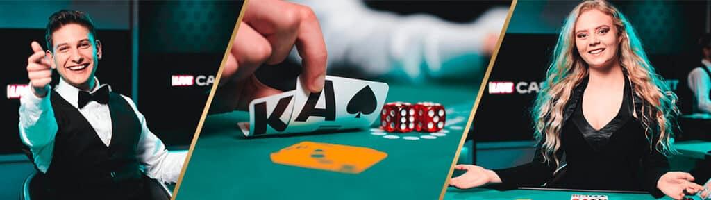Danske Spil Live Casino er et af de steder hvor du kan spille imod danske dealere