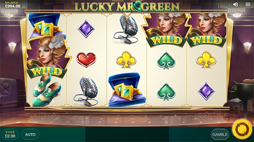 Spil Lucky Mr Green hos ja... Mr Green