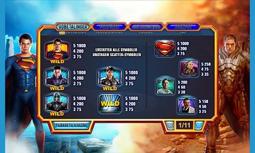Spil Superman-spillet Man of Steel hos Betfair