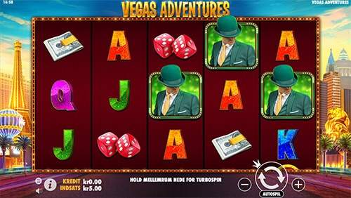Vegas Adventures with Mr Green er et eksklusivt spil hos Mr Green Casino