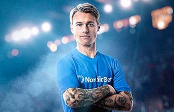 NordicBet har landsholdskaptajnen Simon Kjær som frontfigur