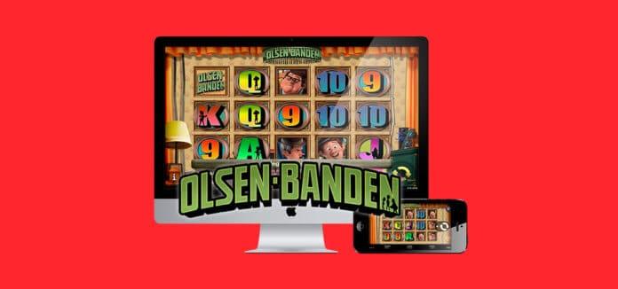 Prøv den fantastiske Olsen Banden spilleautomat