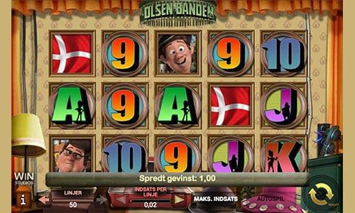 Olsen Banden spilleautomaten finder du hos Danske Spil Casino