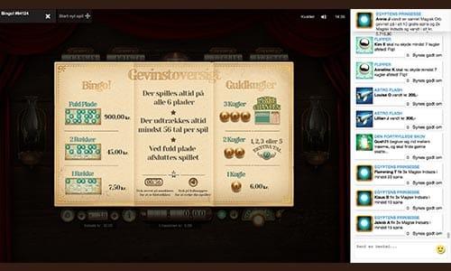 Spil en anderledes form for bingo hos den danske spiludbyder