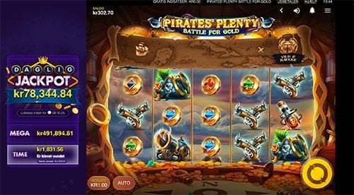 Pirates Plenty udløser en jackpot hver eneste time