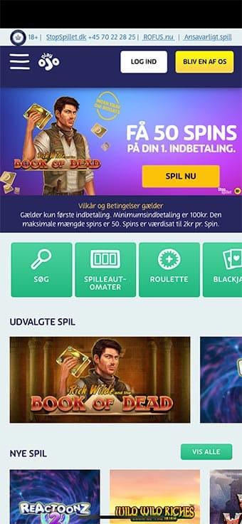 Spil hos Playojo på mobilen