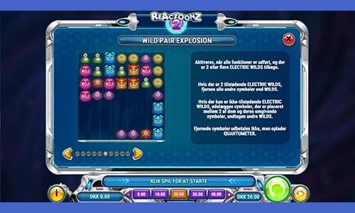 Spil Reactoonz 2 spilleautomaten
