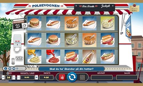 Spil Pølsevognen hos Danske Spil Casino