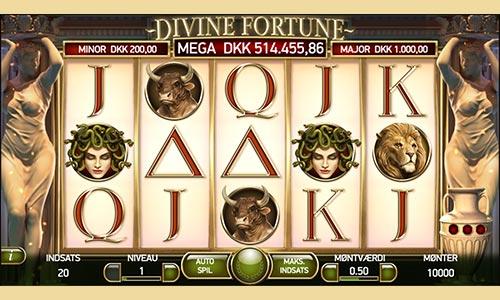 Divine Fortune er spiludbyderens største jackpot