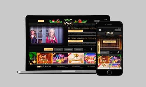 Få 100 freespins hos danske Royal Casino