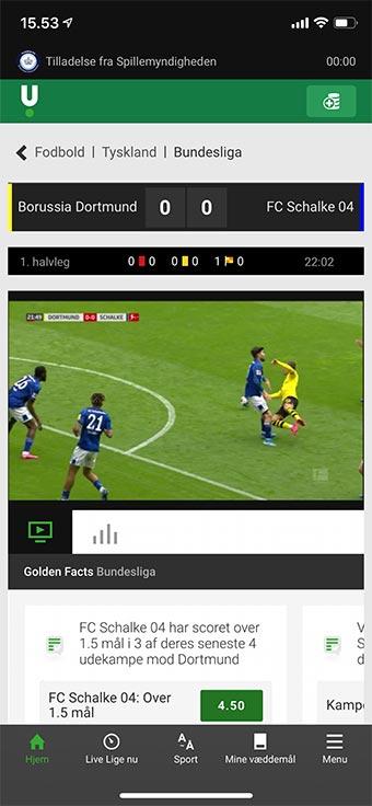 Se Bundesliga i Danmark med spiludbyderen Bwin