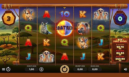 Serengeti Kings er et populært spil hos Rød25