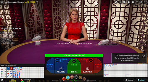 Få en gratis kontant bonus hos Danske Spil Live Casino