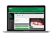 Spil på håndbold og se livestream hos Unibet