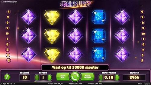 Starburst er en populær spilleautomat udviklet af svenske NetEnt