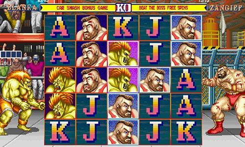 Spil Street Fighter II hos Rød25