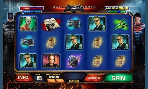 Batman vs. Superman Dawn of Justice er endnu en spilleautomat med superheltetema