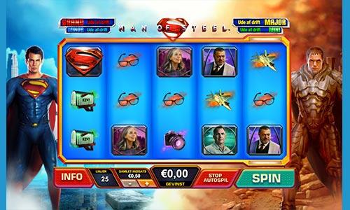 Man of Steel er en spilleautomat med superheltetema