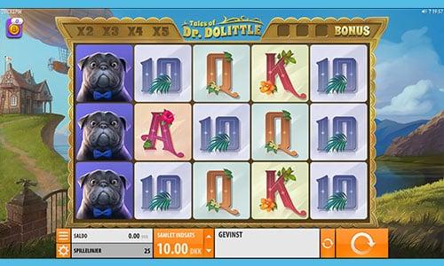 Spil Tales of Dr. Dolittle hos 888 Casino