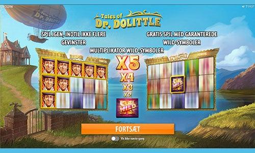 Tales of Dr. Dolittle er et hyggeligt spil fra Quickspin