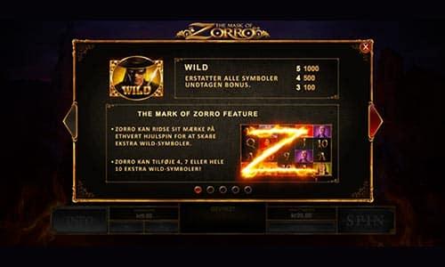 Spil The Mask of Zorro-spilleautomaten hos Bet365 Casino