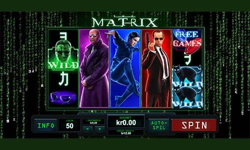 The Matrix spilleautomaten finder du hos Bet365