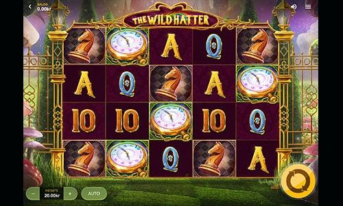 The Wild Hatter er bygget over Alice i eventyrland