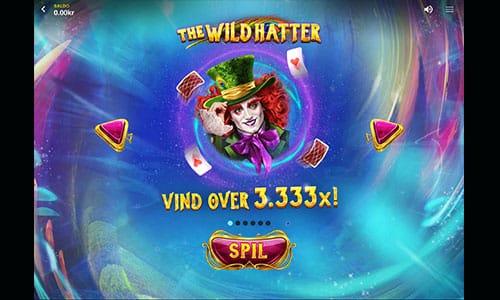 The Wild Hatter hos 888 Casino byder på en flot jackpot