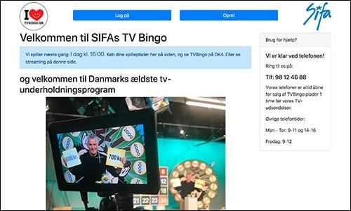 SIFA producerer TV bingo til hele Danmark
