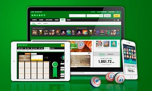 Unibet Bingo er tilgængelig på alle dine devices; desktop, tablet og mobil