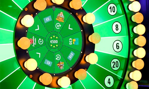Når du spiller hos Unibet Bingo optjener du spins på Loyalitetshjulet