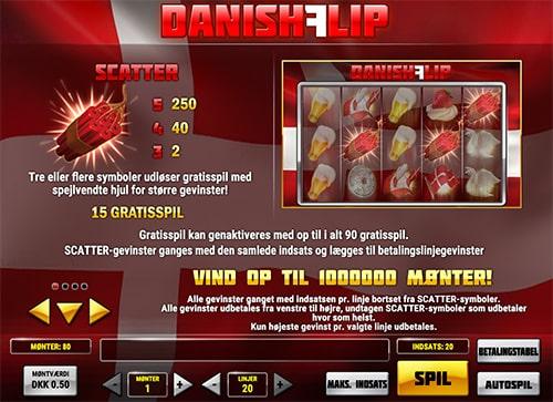 Danish Flip byder på masser af floskler