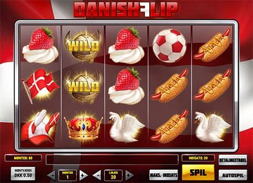 Danish Flip er en dansk spilleautomat skabt eksklusivt til Unibet Casino og Maria Casino