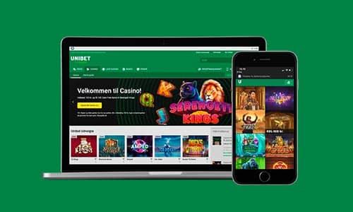 Få 100 cash freespins hos Unibet Casino