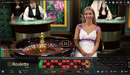 Den skandinaviske spiludbyder har et flot live casino-produkt med danske borde