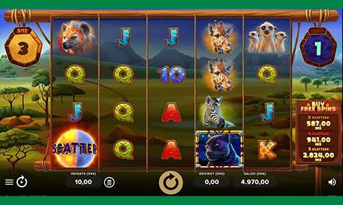 Dine freespins er til den fremragende spilleautomat Serengeti Kings