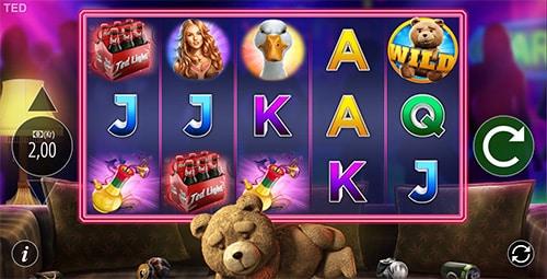 Spil Ted hos Unibet Casino. Spillet er bygget over den populære film