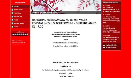 Valby Banko er en særdeles aktiv bankoklub