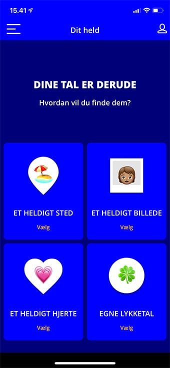 """Dit held"" er en helt ny funktion fra Viking Lotto"