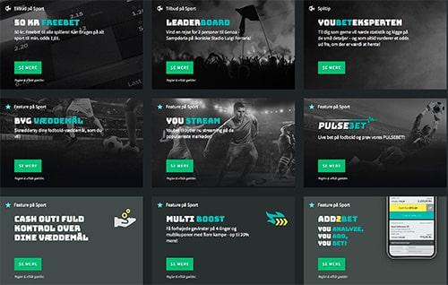 Se alle kampagner fra Youbet på hjemmesiden